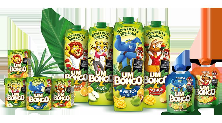 Um Bongo - A nossa gama