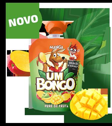 Um Bongo - Puré de fruta Manga